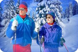квест на лыжах